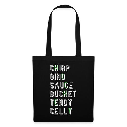 Hockey Slang - Chirp Gino Sauce Bucket Tendy Celly - Tote Bag