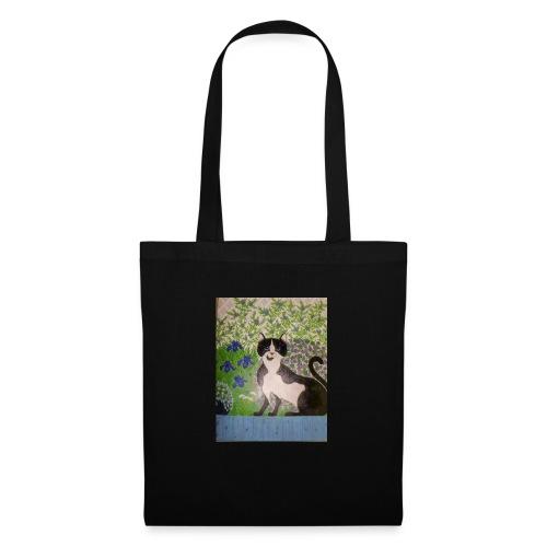 le chat du jardin - Tote Bag