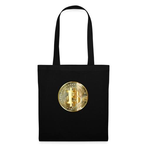 Bitcoin - Stoffbeutel