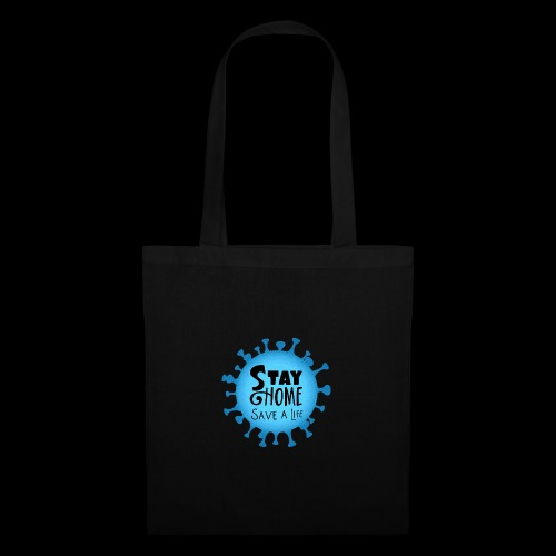 Stay Home (Blue) - Tote Bag