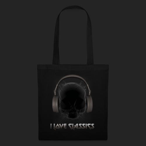 I love classics Black - Tote Bag