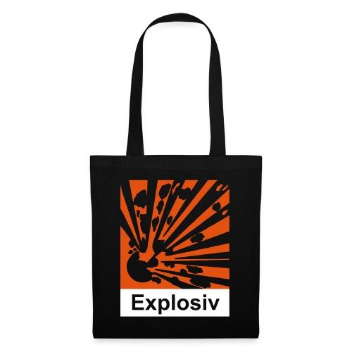 Explosiv - Stoffbeutel