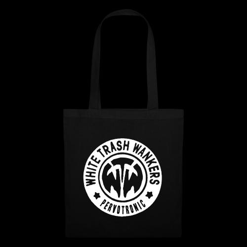 White Trash Wankers Pervotronic-Logo - Stoffbeutel