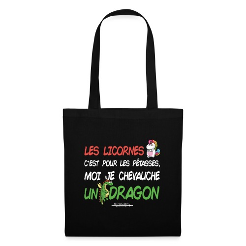 Je chevauche un dragon - Tote Bag