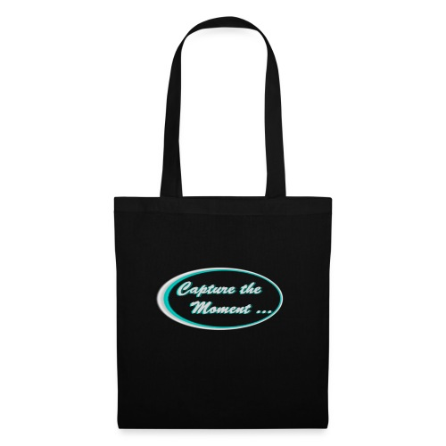 Logo capture the moment photography slogan - Tote Bag