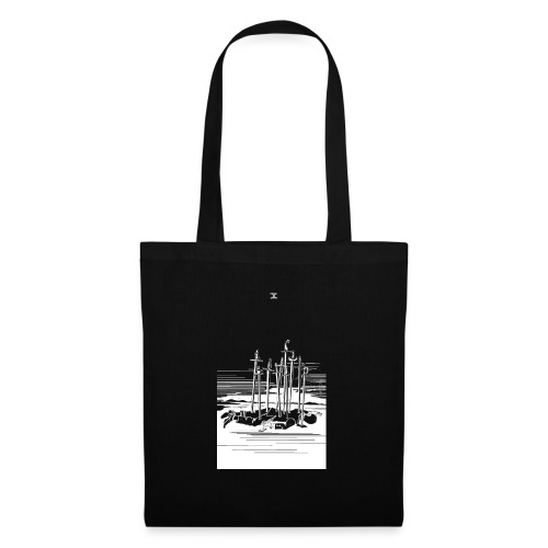 Revenge Capitalism (on black) - Tote Bag