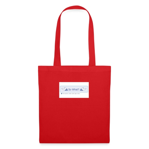 So What? - Tote Bag