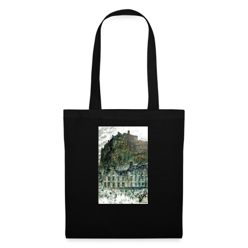 Edinburgh Castle s Grassmarket - Tote Bag