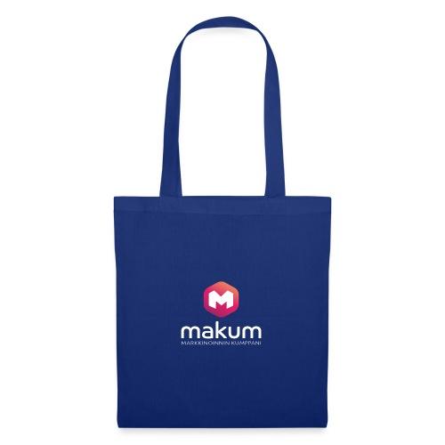 MAKUM Logo ja teksti - Kangaskassi