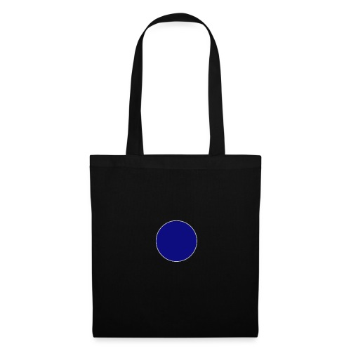 Blauer Kreis - Stoffbeutel
