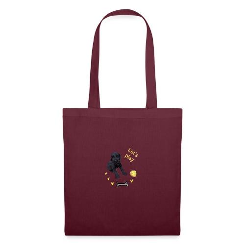 Giant Schnauzer puppy - Tote Bag