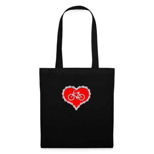 Miłość Biking - Torba materiałowa