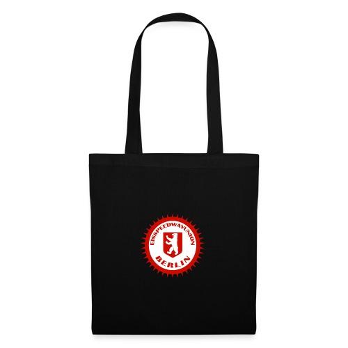 Logo in Rot Weiß - Stoffbeutel