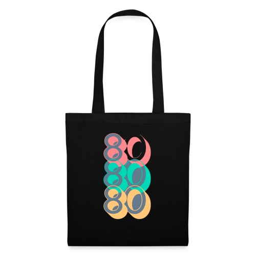 Colorful Lines TV Pop Culture T Shirt 1 - Bolsa de tela
