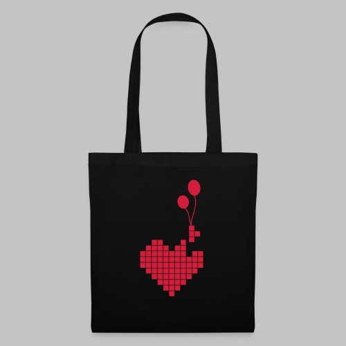 heart and balloons - Tote Bag