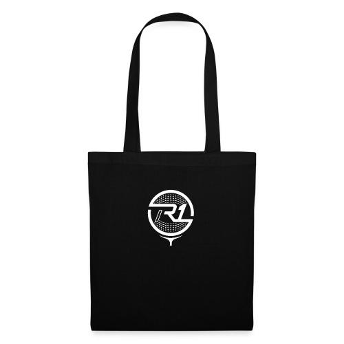 logo R1 blanc - Sac en tissu