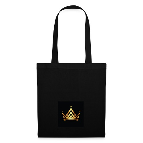 moderner kronen logo royal king queen zusammenfass - Stoffbeutel