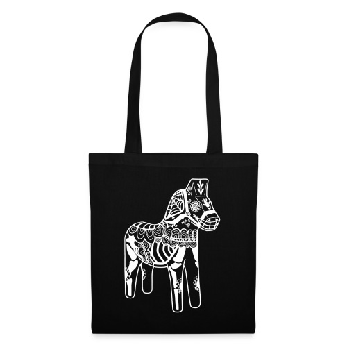 caballo muerto white - Tygväska