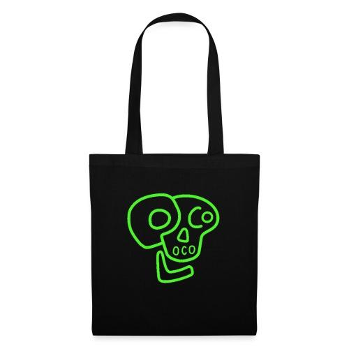 poco loco logo green - Tote Bag