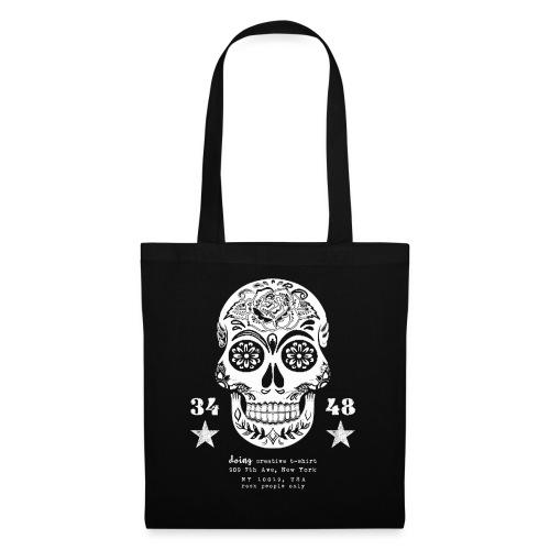 best skull tattoo - Borsa di stoffa