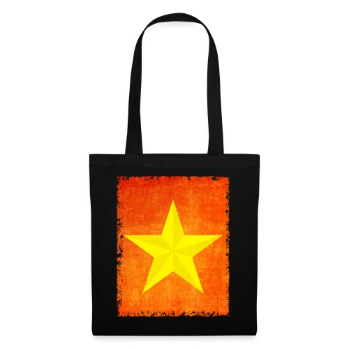 yellow amish barn star t-shirt design gift idea - Borsa di stoffa