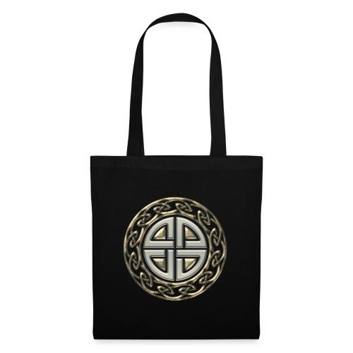 Thor Schildknoten, Schutzsymbol, Keltischer Knoten - Stoffbeutel