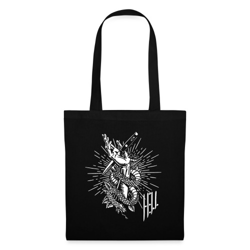 HELL apparel | THE TIME OF MY KNIFE | 2019 - Stoffbeutel