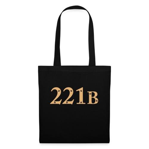 Sherlock Holmes - 221B - Stoffbeutel
