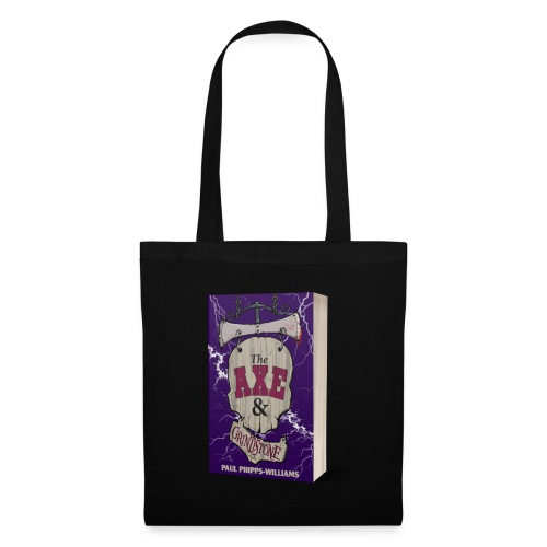 The Axe & Grindstone Cover - Tote Bag