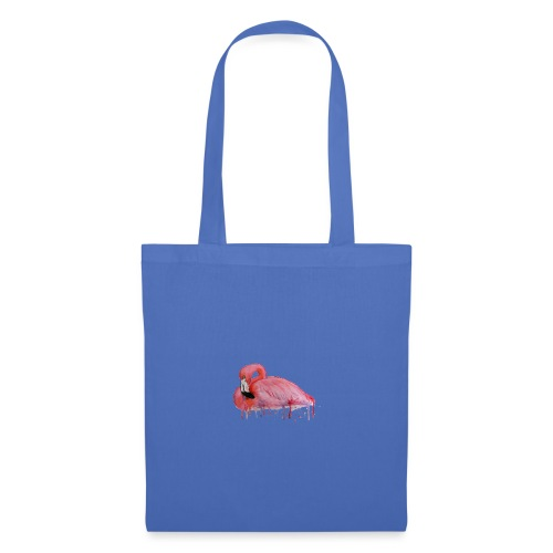 Pink Flamingo Watercolors Nadia Luongo - Borsa di stoffa