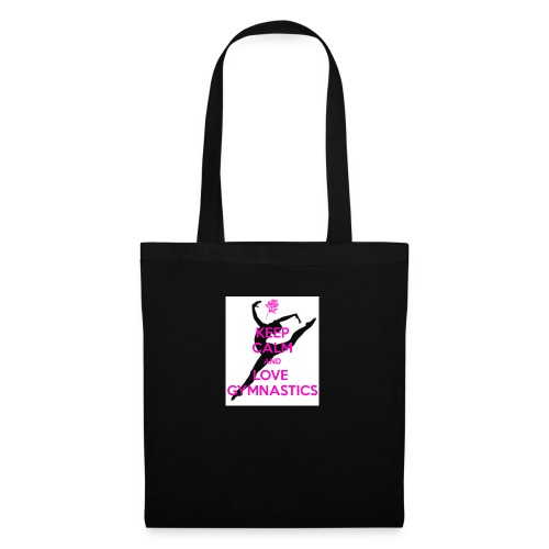 KEEP CALM AND LOVE GYMNASTICS STUFF (ON SALE) - Tote Bag