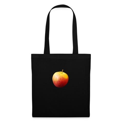 rood fruit met een naam - Tas van stof