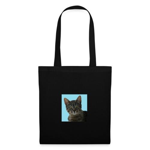 gattino curioso - Borsa di stoffa