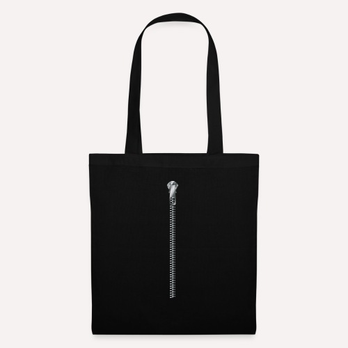 Zipper print - Tote Bag