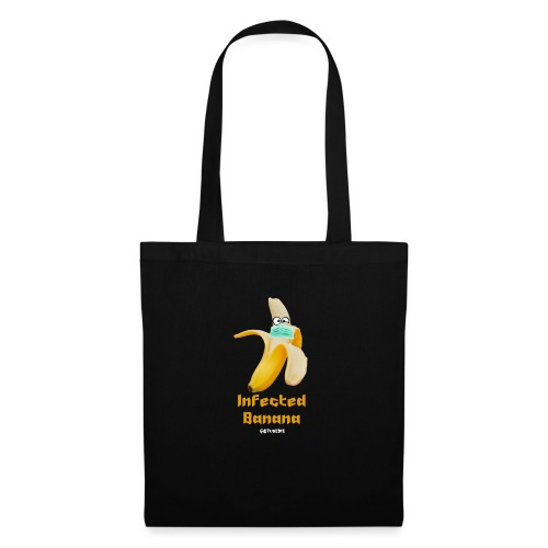 Die Zock Stube - Infected Banana - Stoffbeutel