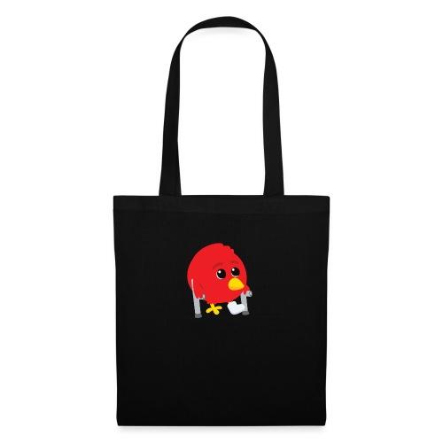 Oiseau rouge blessé - Tote Bag