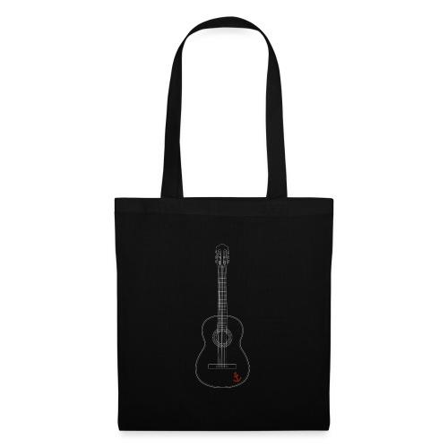 Gitarre - Stoffbeutel