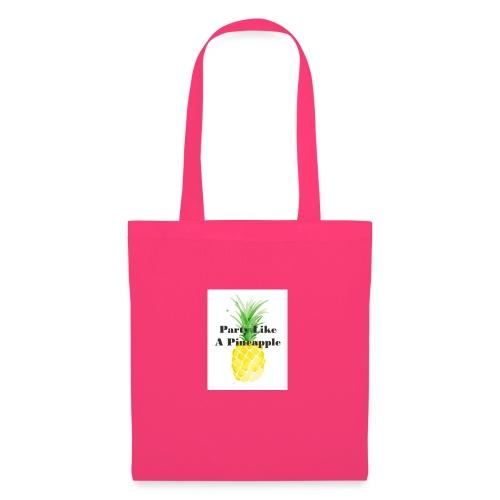 Party like A Pineapple tas - Tas van stof