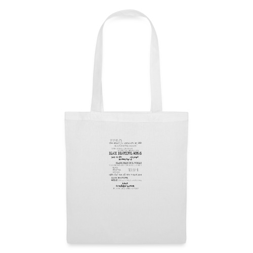Beautiful Black Woman - Tote Bag