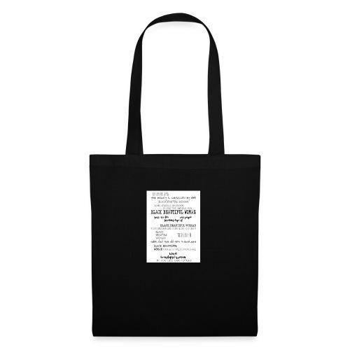 Beautiful Black Woman - Tote Bag