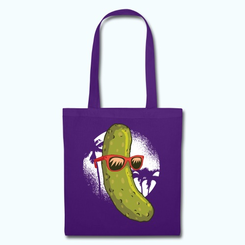 Surfer cucumber - Tote Bag
