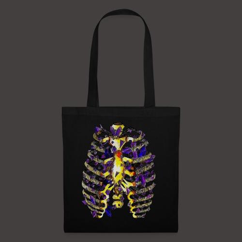 La Cage Thoracique de Cristal Creepy - Tote Bag