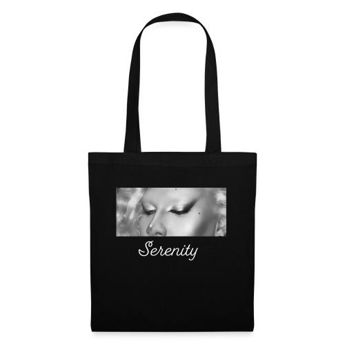 Serenity Drama Black - Tote Bag