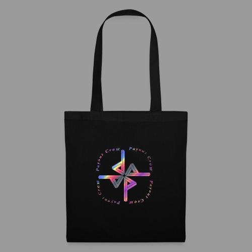 Quadrat Regenbogen - Stoffbeutel