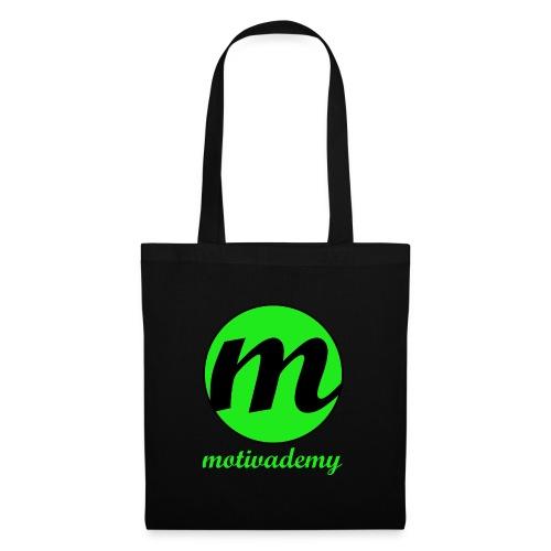 Motivademy Logo Print - Stoffbeutel