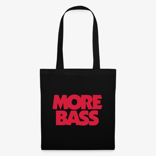 More Bass Bassist Bassisten - Stoffbeutel
