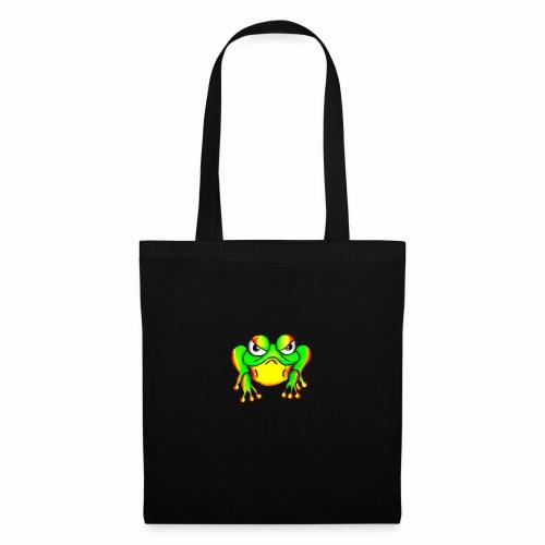 Boze kikker - Tas van stof