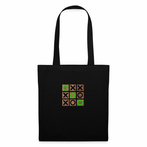 Tic Tac Toe - Wood Edition - Tote Bag