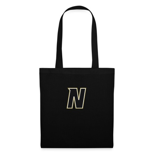 Nordic Steel Black N - Tote Bag