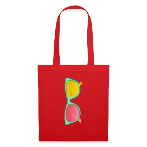 Vintage Retro Glasses Pop Art Style - Tote Bag